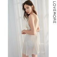 lovemore LY2JJ074A-1 女士桑蚕丝吊带裙