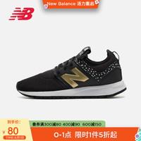 NewBalanceNB 女鞋WRL247HA/B/C复古运动鞋休闲鞋 黑色 WRL247HB-B 37