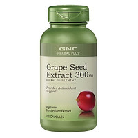 GNC 健安喜  浓缩葡萄籽精华胶囊 300mg*100粒/瓶 *2件