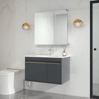 61预售 : JOMOO 九牧 蒂格系列 A2255 简欧浴室柜组合 80cm