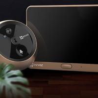 EZVIZ 萤石 DP1C智能电子猫眼监控摄像头