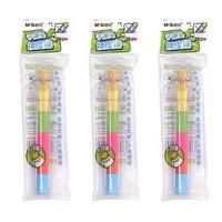 子弹头橡皮擦、绿杆铅笔、卷笔刀等