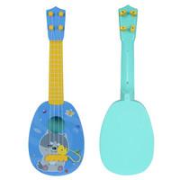 贝芬乐(buddyfun)儿童小吉他 弦外之音尤克里里 带拨片 88042蓝色(中号) *8件