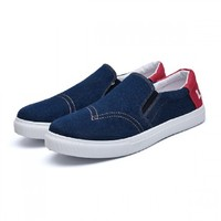 Levi's 李维斯 23059573017 一脚蹬帆布鞋