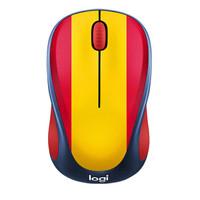 罗技(Logitech) M238系列无线鼠标 MAC笔记本台式电脑多彩可爱萌系鼠标 USB涂鸦鼠标 M238球迷版-西班牙