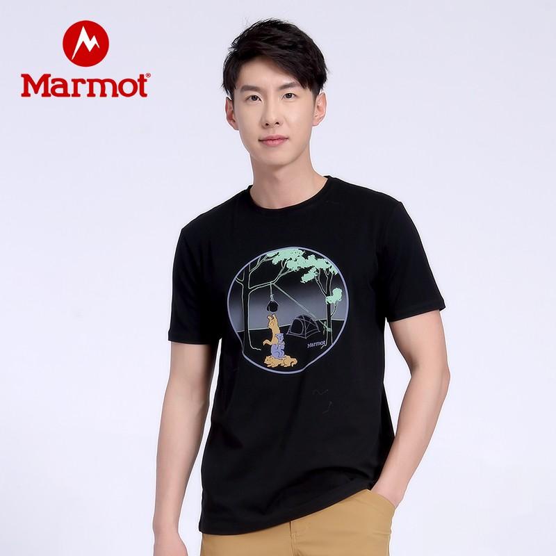 Marmot 土拨鼠 H43489 男款短袖T恤