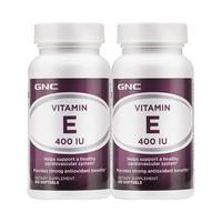88VIP : GNC健安喜美国进口维生素E软胶囊 *2瓶