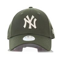 New Era 纽亦华 男士联盟基本款9Forty NYY棒球帽