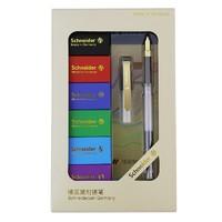 Schneider 施耐德 BK406 钢笔 23K镀金版 含6色墨囊*18支