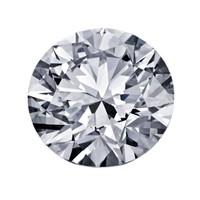 Blue Nile 1.00克拉圆形切割钻石 非常好切工 I级成色 SI2净度