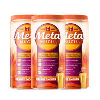 61预售、88VIP:Metamucil 美达施 膳食纤维粉  114次*3罐
