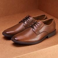 舒适冲击,呵护双足丨clarks 其乐 Tilden Plain 男士正装皮鞋