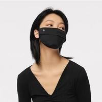 BANANA UNDER 蕉下 冰薄系列 气息防晒口罩 黑色 单只装
