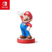 任天堂 Nintendo Switch 超级马力欧 马力欧 标准款 国行amiibo游戏互动模型 NS周边配件