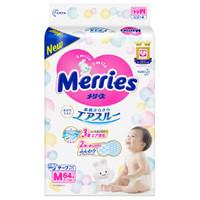 Merries 妙而舒 婴儿纸尿裤 M号 64片 *4件