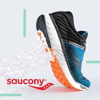 云朵上的脚感,saucony TRIUMPH 17 顶级缓震跑鞋