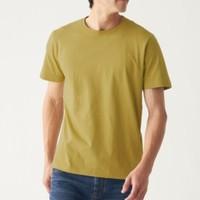 MUJI 无印良品 ABA01A0S 男式印度棉天竺编织圆领短袖T恤