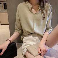LANDGRAVINE 02LXF04 女士雪纺衬衫