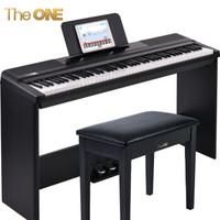 The ONE智能钢琴 电钢琴 88键重锤电子琴数码钢琴 成人儿童电钢 2019新品