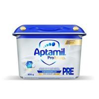 德国进口 爱他美Aptamil 白金HMO 婴儿配方奶粉pre段 (0-6个月) 800g 本土版 *3件