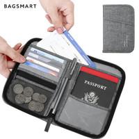 BAGSMART  BM0107093AN008 长款拉链护照夹钱包