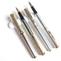 永生322钨银异色全钢铱金笔包尖笔 练字笔钢笔 库存全新