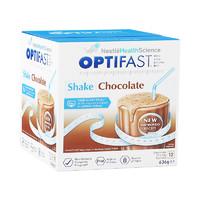 Nestlé 雀巢 优体纤 代餐奶昔 巧克力味 12袋 636g