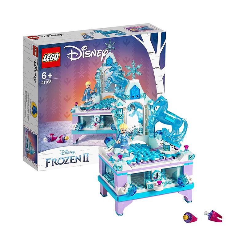 618预售、考拉海购黑卡会员 : LEGO 乐高 迪士尼公主系列 41168 艾莎的创意珠宝盒