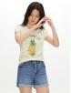 Gap 盖璞 000467919 女士妙趣图案棉质莫代尔圆领T恤