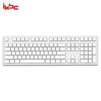 ikbc W210 机械键盘 2.4G无线 游戏键盘 108键 cherry轴 樱桃轴 无线机械键盘 白色 茶轴