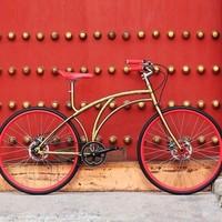 PHOENIX 凤凰 纪念版 钛合金复古单车
