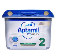 Aptamil 爱他美 新白金版 较大婴儿奶粉 2段 800g *4件 +凑单品