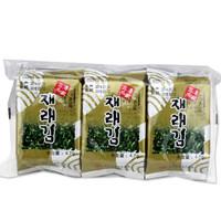 海地村 紫菜海苔 三海名家调味香酥海苔 即食 14.1g *16件