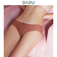 DAPU 大朴 AE0N02211 蕾丝网纱花边三角女裤 *3件