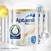 Aptamil 爱他美 白金版 幼儿配方奶粉 3段 900克 6罐装