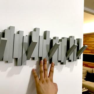 umbra创意装饰墙壁挂衣架挂衣钩墙上置物架 玄关钥匙门口北欧挂钩