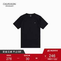 CK PERFORMANCE   男装网眼透气运动短袖T恤 4MF9K267 007-黑色 XL