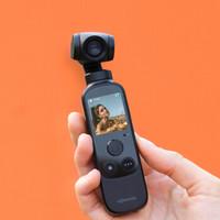 橙影抖音智能摄影机运动相机 口袋云台vlog相机 三轴云台防抖 智能追踪 一键成片