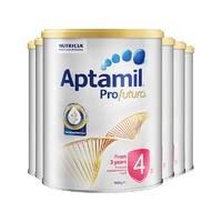 Aptamil 爱他美 澳洲白金装系列 幼儿配方奶粉 4段 900g 6罐装