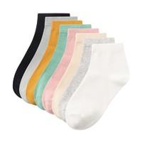 Purcotton 全棉时代 P311930300701022 女士舒适浅口纯棉袜子