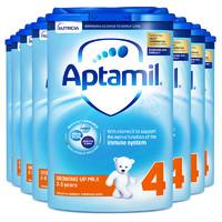 Aptamil 爱他美 婴幼儿奶粉 4段 800g*8罐