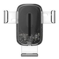 百亿补贴:BASEUS 倍思WXZL 01车载无线快充手机支架 15W 透明款