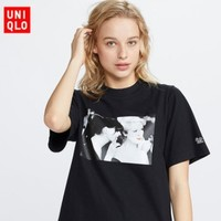 UNIQLO 优衣库 WOMEN IN MOVIES系列 424806 女款印花T恤 《穿PRADA的女王》电影截图印花