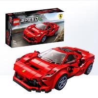 6-1:LEGO 乐高 赛车系列 76895 法拉利F8 Tributo *2件