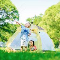 户外旅游有品精选 篇一:快速给萌宝一间独处的萌趣小屋——早风轻便速开儿童帐篷轻体验