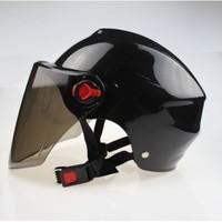酷旋小子 电动车摩托车头盔 夏季防晒 灰色