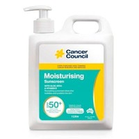 Cancer Council 强效保湿修护防晒乳霜 SPF50+ 1L
