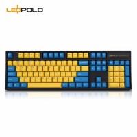 Leopold 利奥博德 FC900R 蓝金刚 机械键盘 OE版 Cherry银轴