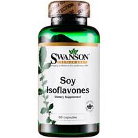 斯旺森 大豆异黄酮植物雌激素 15mg*60粒*4件+覆盆子酮树莓酮精华胶囊 60粒*3件