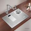 阿萨斯 AS-5338X 不锈钢水槽+洗杯器套餐